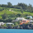 Colorful Houses in Bermuda — Lizenzfreies Foto