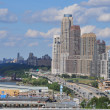 Henry Hudson Highway (West Side) in Manhattan — Stok fotoğraf