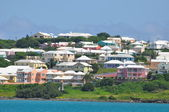 Colorful Houses in Bermuda — Stock Photo