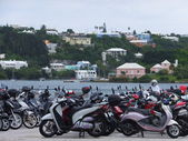 Scooters in Bermuda — Foto de Stock