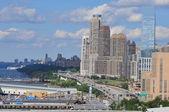 Henry Hudson Highway (West Side) in Manhattan — Stock Photo