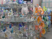 Hand-Blown Glass Store — Stock Photo