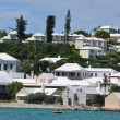 Houses in Bermuda — Stock Photo