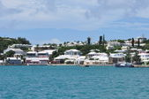Houses in Bermuda — 图库照片