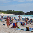 Horseshoe Bay Beach in Bermuda — Stok fotoğraf