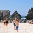 Horseshoe Bay Beach in Bermuda — Stock Photo