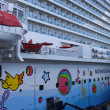Norwegian Breakaway Cruise Ship — Stock Photo