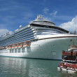 Stock Photo: Ruby Princess in Antigua