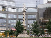 Columbus Circle in New York City — Stock Photo