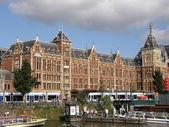 Central Station in Amsterdam — Stockfoto