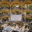 Galeries Lafayette in Paris, France — Stock fotografie #35085689