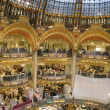 Galeries Lafayette in Paris, France — 图库照片 #35085691