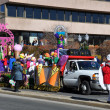 Stock Photo: 20th annual UBS Thanksgiving Parade Spectacular, in Stamford, Connecticut
