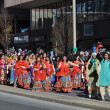 India section of the 20th annual UBS Thanksgiving Parade Spectacular, in Stamford, Connecticut — Stock Photo