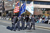 India section of the 20th annual UBS Thanksgiving Parade Spectacular, in Stamford, Connecticut — Stock fotografie