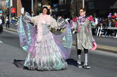 India section of the 20th annual UBS Thanksgiving Parade Spectacular, in Stamford, Connecticut — Foto Stock
