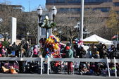 India section of the 20th annual UBS Thanksgiving Parade Spectacular, in Stamford, Connecticut — Stok fotoğraf