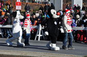 20th annual UBS Thanksgiving Parade Spectacular, in Stamford, Connecticut — Foto Stock