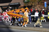 20th annual UBS Thanksgiving Parade Spectacular, in Stamford, Connecticut — Foto de Stock