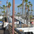 Stock Photo: Pier in Oceanside, California
