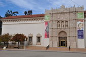San Diego Museum of Art in Balboa Park in San Diego, California — Stock fotografie
