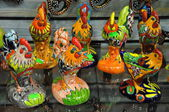 Mexican handicrafts being sold in Old Town, San Diego in California — Stock Photo