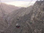 Palm Springs from Aerial Tramway in California — Stock Photo