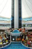 Marina mall v Abú Dhabí — Stock fotografie