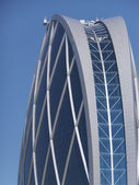 Aldar Headquarters Building in Abu Dhabi — Foto Stock