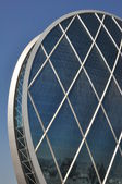 Aldar Headquarters Building in Abu Dhabi — Stock Photo