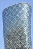 Capital Gate Tower in Abu Dhabi — Stock Photo