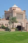 Emirates Palace Hotel in Abu Dhabi — Стоковое фото