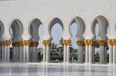 Grand mešita šejka zayeda v abú dhabí — Stock fotografie