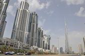Burj Khalifa in Dubai, UAE — Stock Photo
