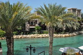 Madinat Jumeirah Arabian Resort in Dubai, UAE — Foto de Stock