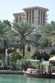 Madinat Jumeirah Arabian Resort in Dubai, UAE — Stock Photo
