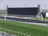Meydan Racecourse in Dubai, UAE — Stock Photo