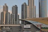 Business Bay Metro Station in Dubai, UAE — Stock Photo