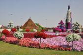 Dubai-Wunder-Garten in den Vereinigten Arabischen Emiraten — Stockfoto