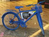 Bicycle exhibit at the Street Con urban art festival at Al Ghurair Centre in Dubai, UAE — Foto Stock