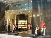 Escada al centro commerciale di dubai negli emirati arabi — Foto Stock