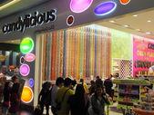 Candylicious no centro comercial de dubai, nos emirados árabes — Fotografia Stock