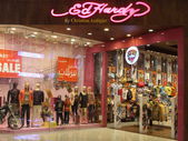 Ed Hardy store at Dubai Mall in the UAE — Stockfoto