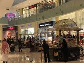 Dubai mall v dubaji, spojené arabské emiráty — Stock fotografie