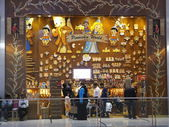 Pinocchio World at Dubai Mall in the UAE — Foto de Stock