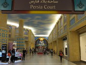 Ibn Battuta Mall in Dubai, UAE — Stock Photo