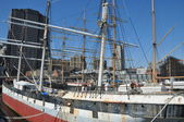 South street seaport a new york — Foto Stock