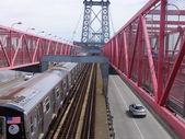 Ponte de Williamsburg, em Nova York — Fotografia Stock