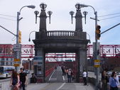 Williamsburg Bridge in New York City — Stock Photo