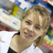 Pharmacist woman — Stock Photo